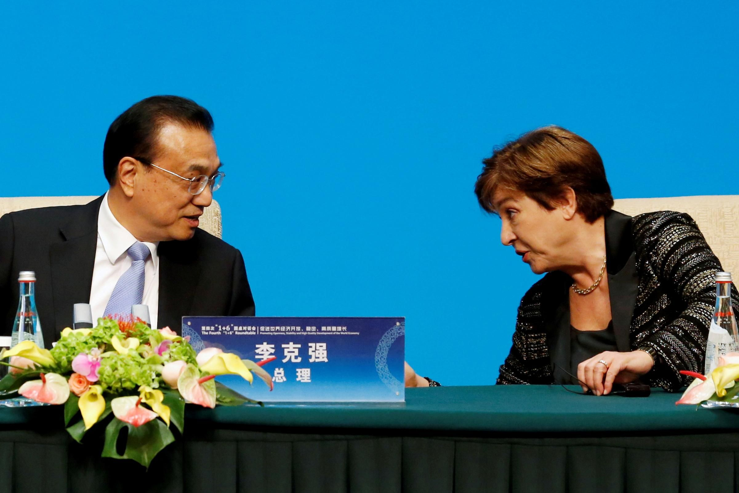 Should China get more IMF power?