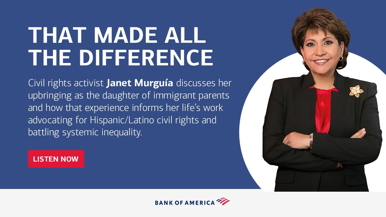 That made all the difference: Civil rights activist Janet Murguía