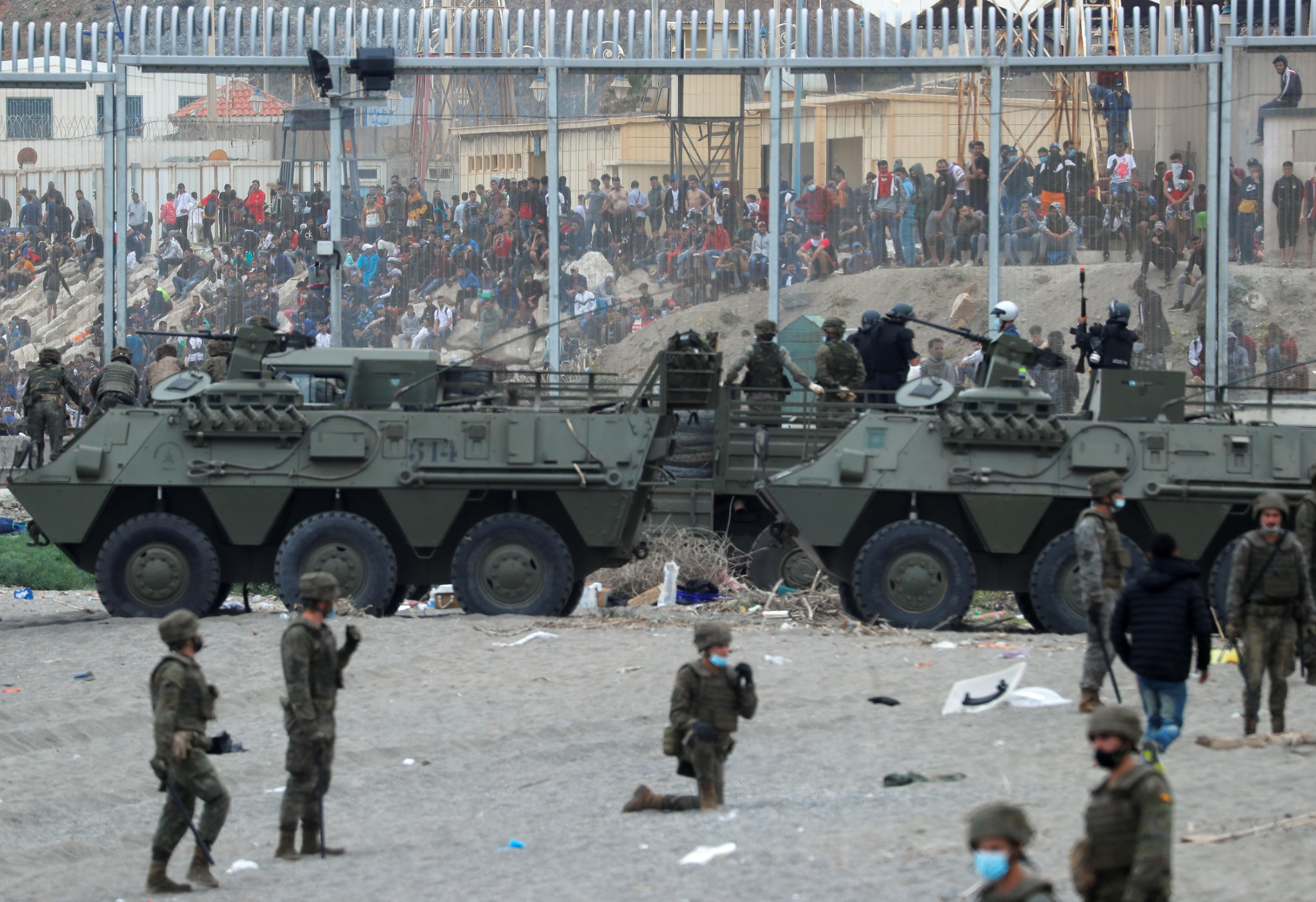 What We're Watching: Morocco-Spain border crisis, Belarus police target protesters, no beef from Argentina