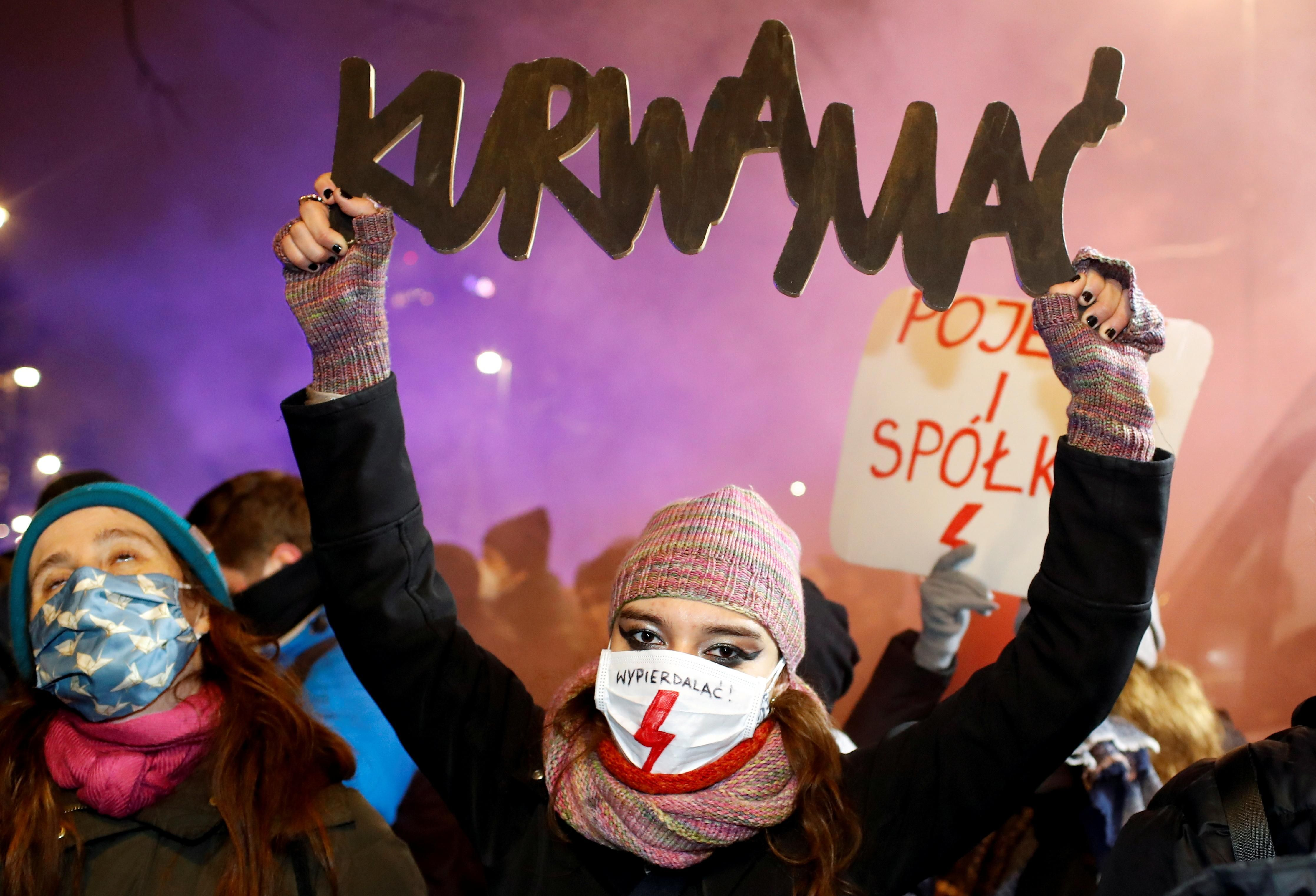 What We're Watching: Polish abortion protests, US stops Saudi/UAE arms sales, GameStop's wild run